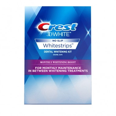 Crest Whitestrips 3D Monthly Whitening Boost - Cutie 12 plicuri
