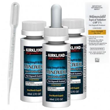 Solutie 3 Luni, Kirkland, Minoxidil,...