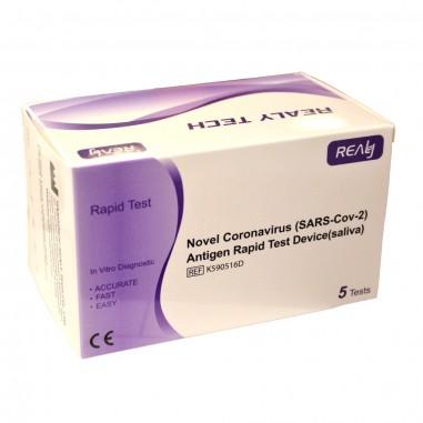 Set 5x Teste Rapide COVID-19, Realy...