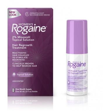 Rogaine -  Solutie 2% Minoxidil - Femei - Tratament 1 Luna - 60ml